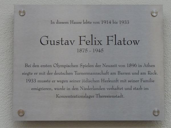 Gustav Felix Flatow Schlütterstr 49