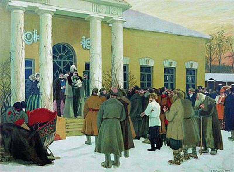 400px-Liberation_of_peasants_by_B.Kustodiev_(1907)