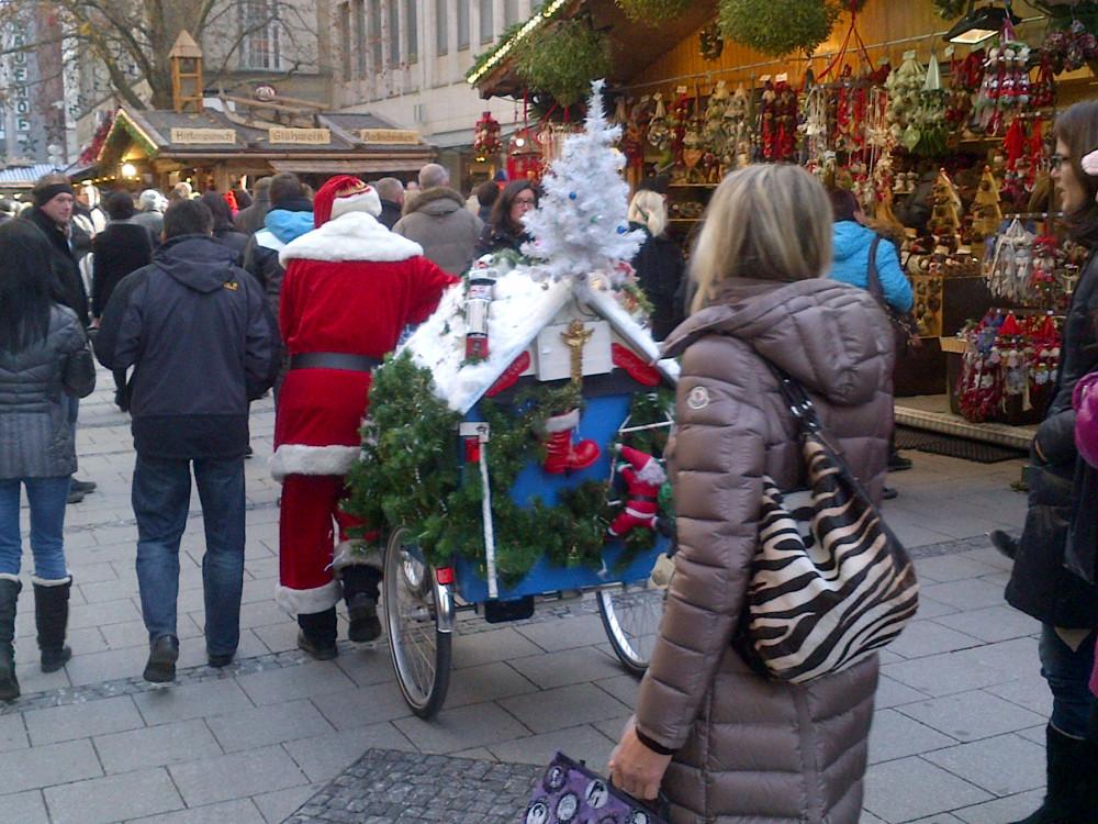Дед мороз в Мюнхене