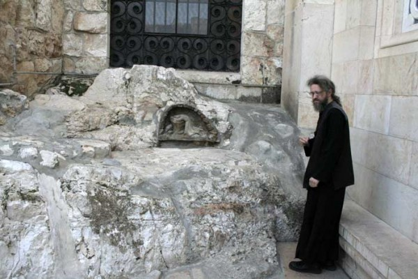 везенья камень на котором молился господь иисус фото этот древний