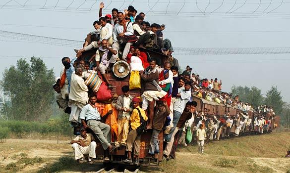 Обама поезд