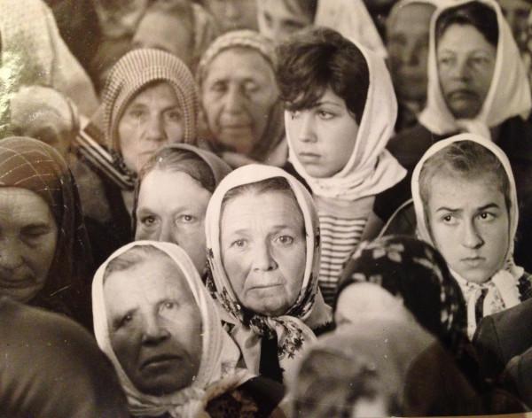 На службе. Липецкая обл. 1990
