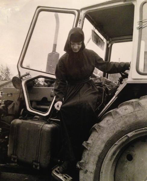 Послушница Марина. Толга. 1989