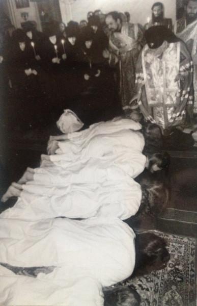 Постриг в Ивановском Веденском монастыре 1995