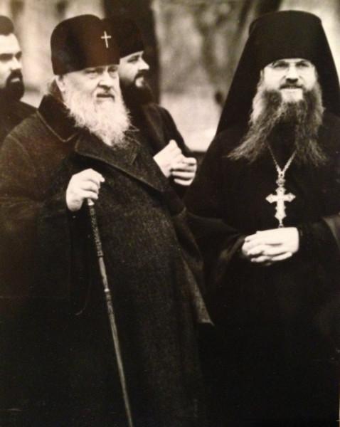 Пимен и Евлогий в Даниловом. 1985