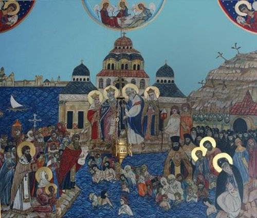 Владимир крещение руси фото