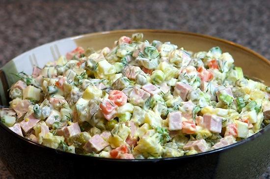 Стол салат