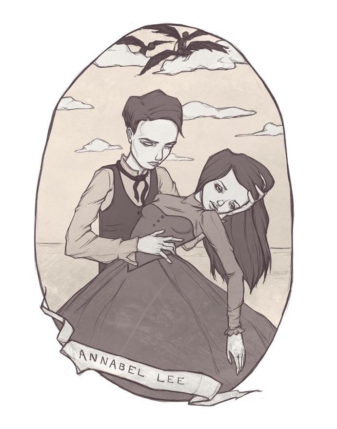 Эдгар По считал «наиболее поэтическим предметом на свете» смерть прекрасной женщины