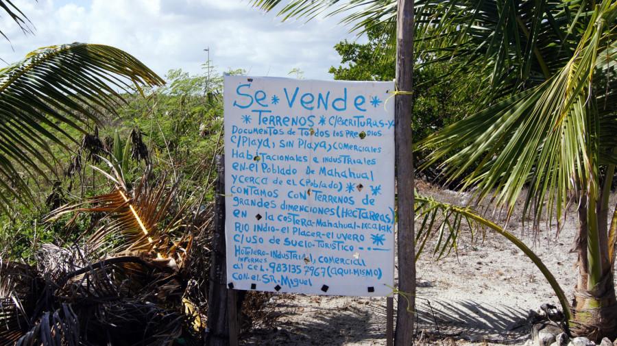 Объявление о продаже земельного участка, Коста-Майя, Мексика