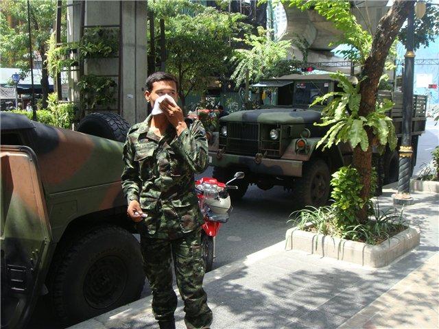 «Вежливые люди» в Бангкоке