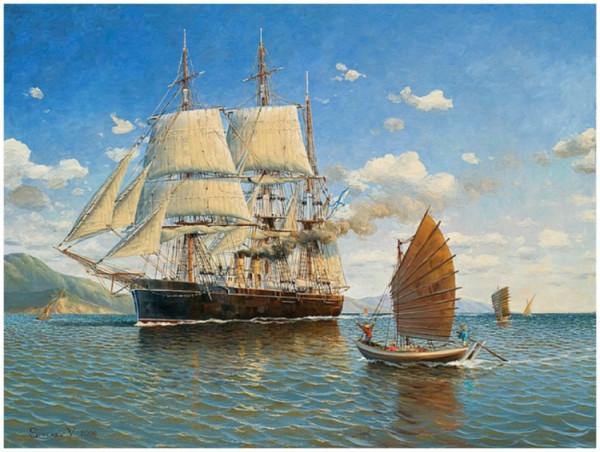 Замок в облаках, тиковая древесина и русские моряки