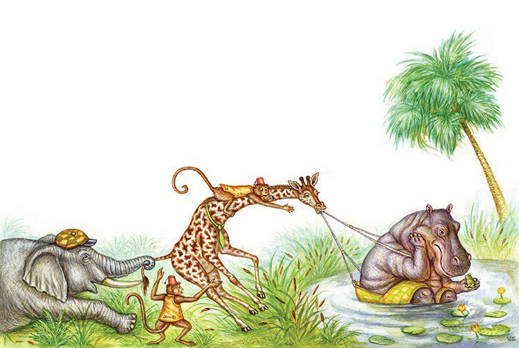 установка тянуть бегемота из болота картинка предварительным данным