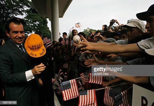 Визит Ричарда Никсона в Таиланд
