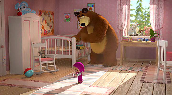доказательством картинка комнаты маша и медведь экскаваторы отвечают всем