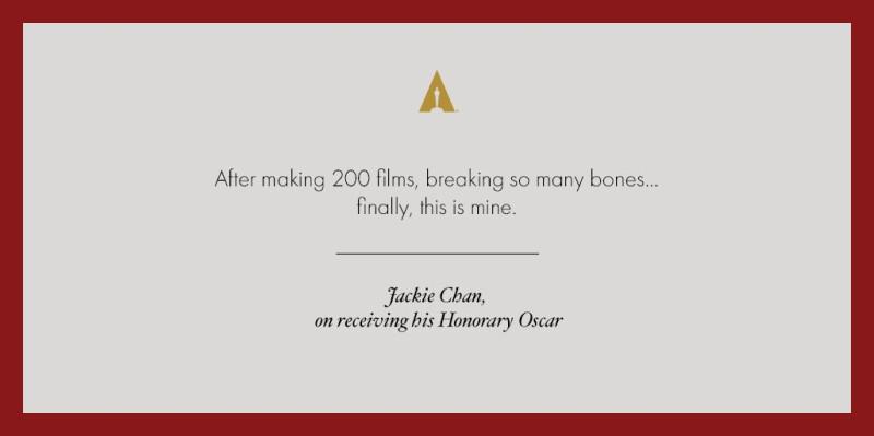 Джеки Чан получил Оскар! 1