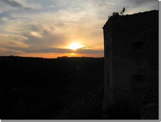 Кудринці, замок, захід