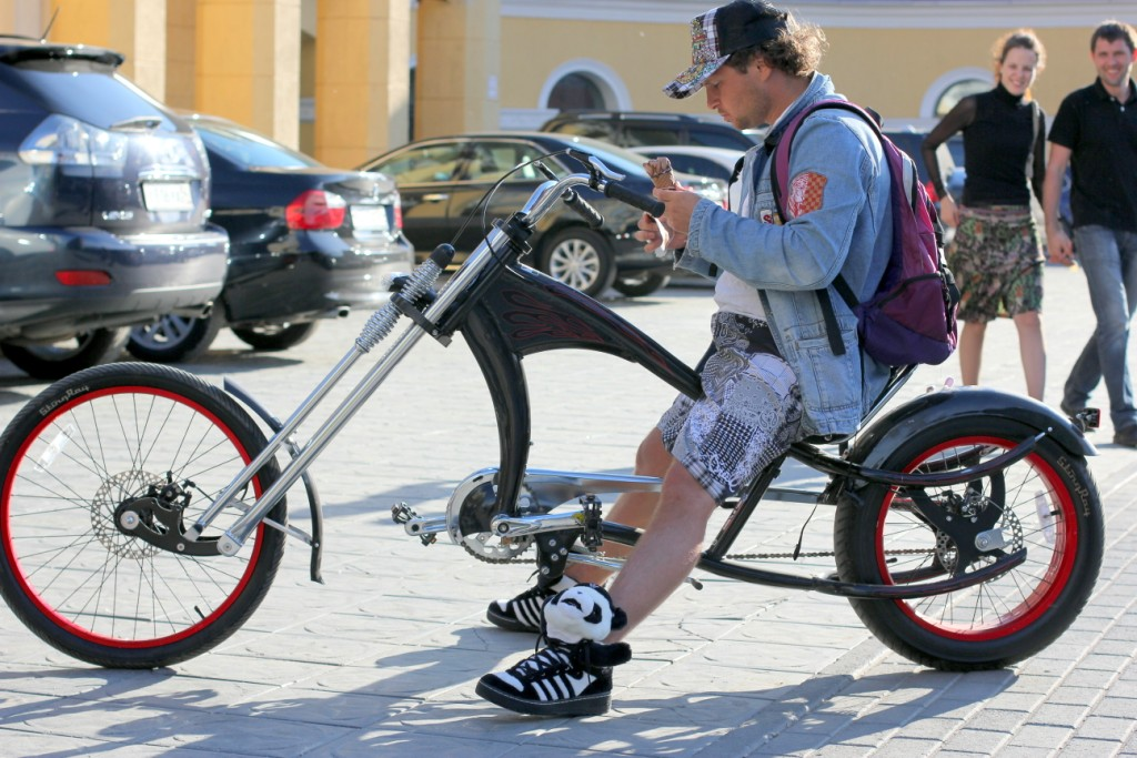 Велосипед чоппер своими руками фото