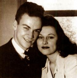 Richard and Arline Feynman