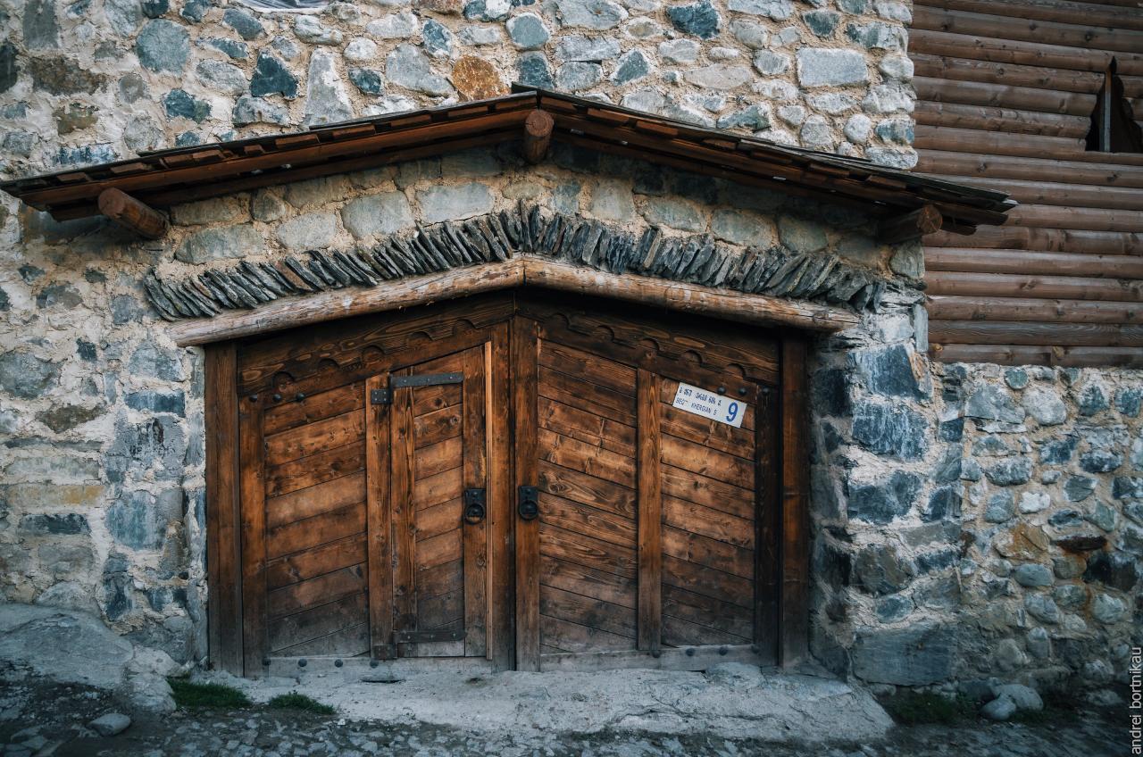Местиа, Верхняя Сванетия, Грузия