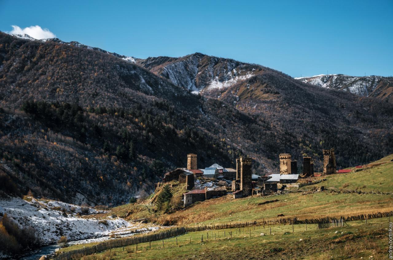 Муркмели, община Ушгули, Верхняя Сванетия