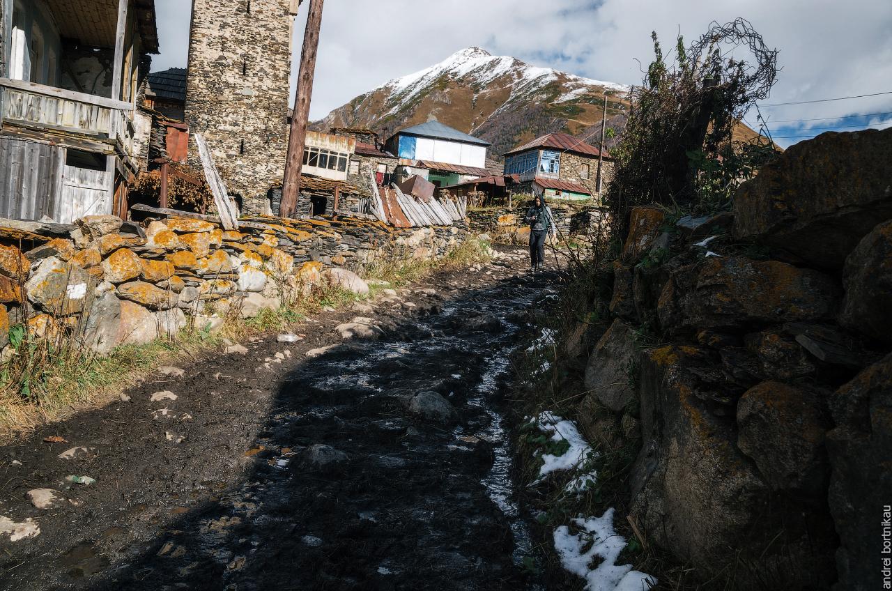Дорога в Ушгули, Верхняя Сванетия