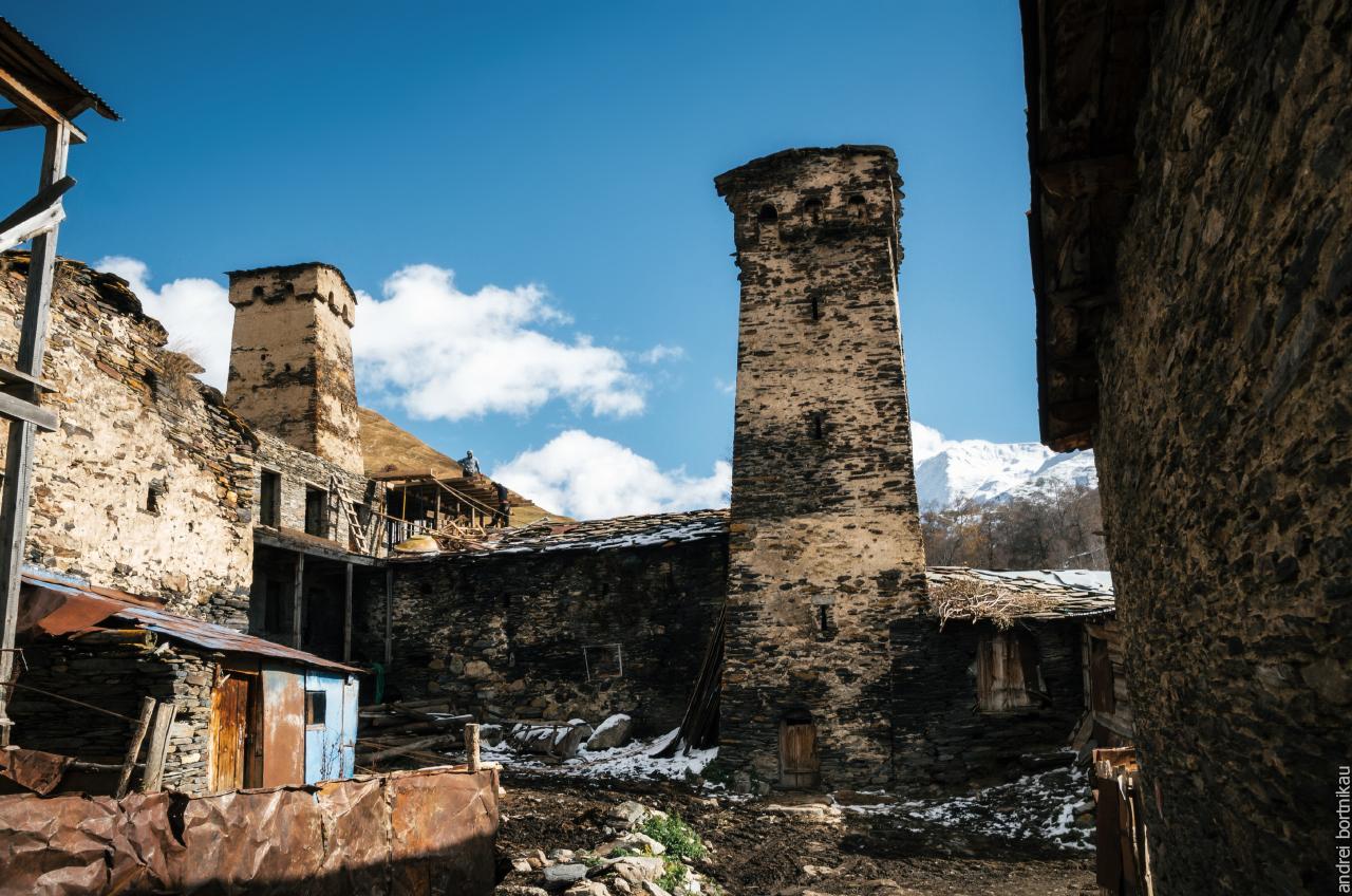 Сванские башни, Ушгули, Верхняя Сванетия