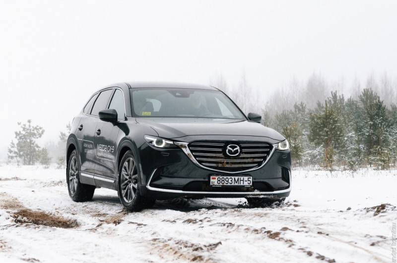 Самая-самая Mazda – CX-9