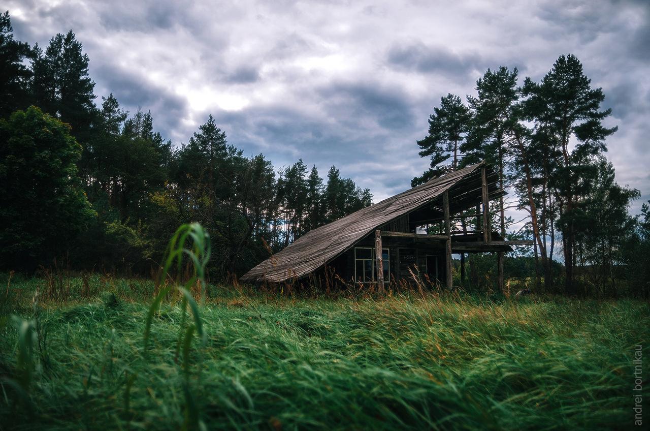 Заброшенная усадьба, Налибокская пуща, Беларусь