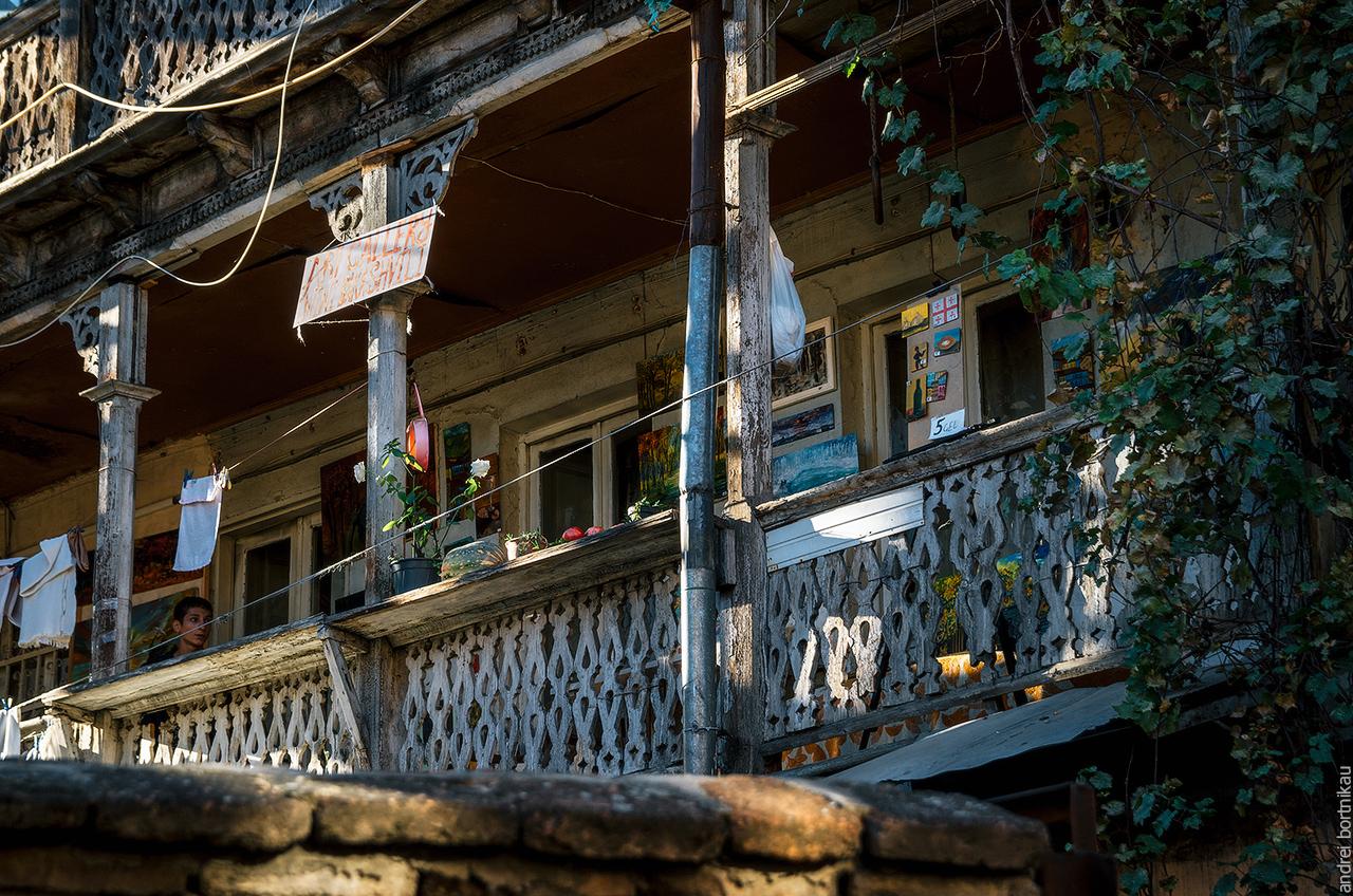 Дома в Старом Тбилиси