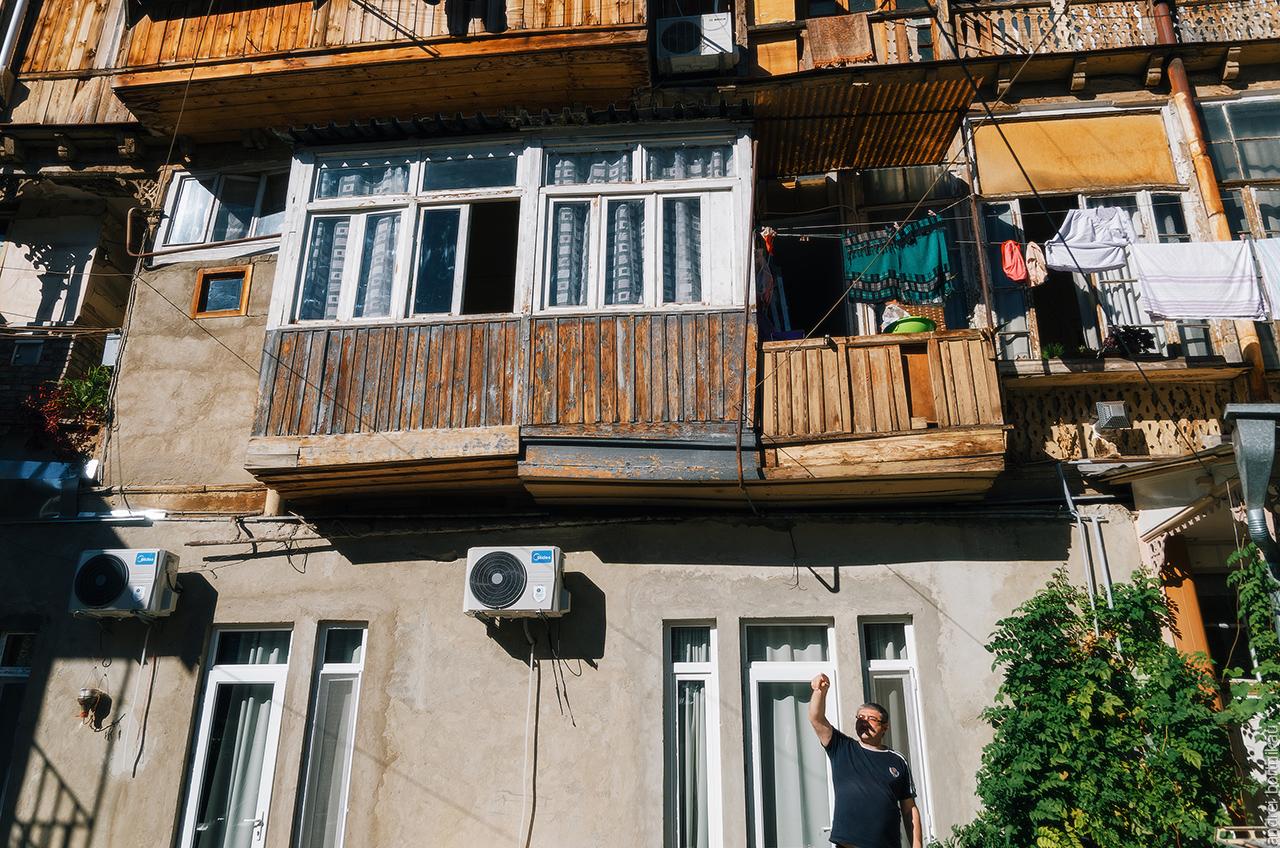 Жители Тбилиси