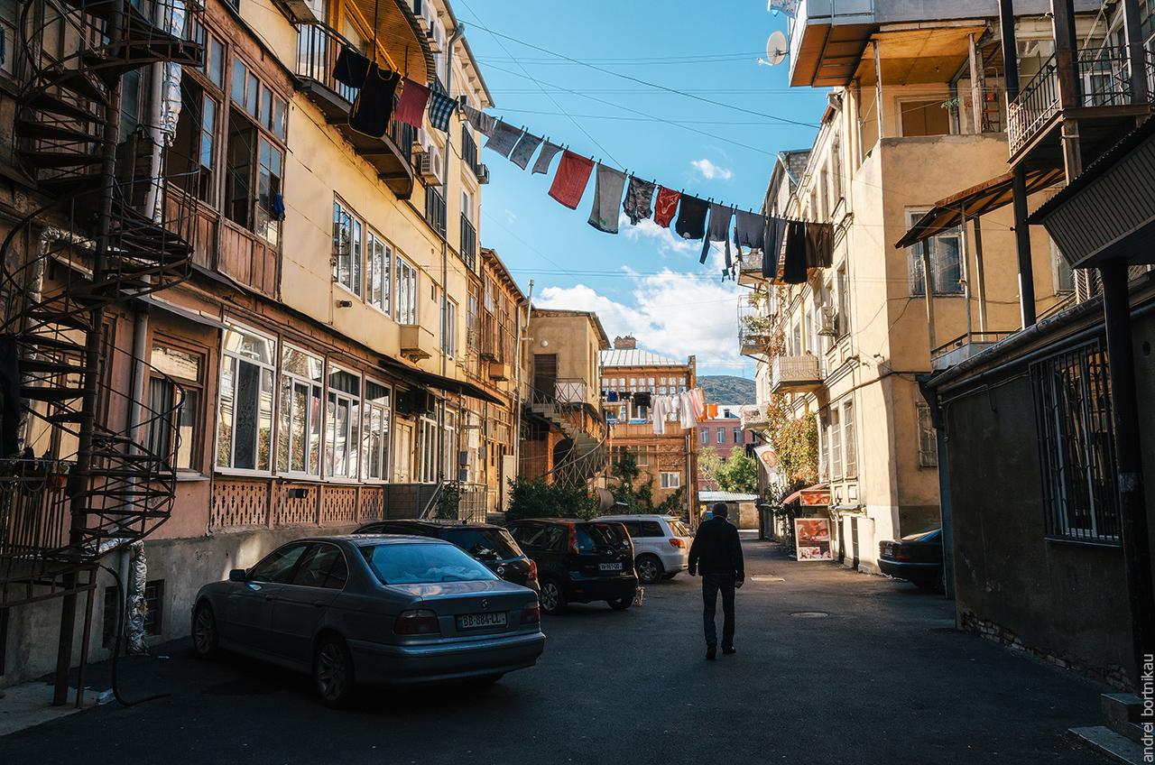 Двор в Тбилиси