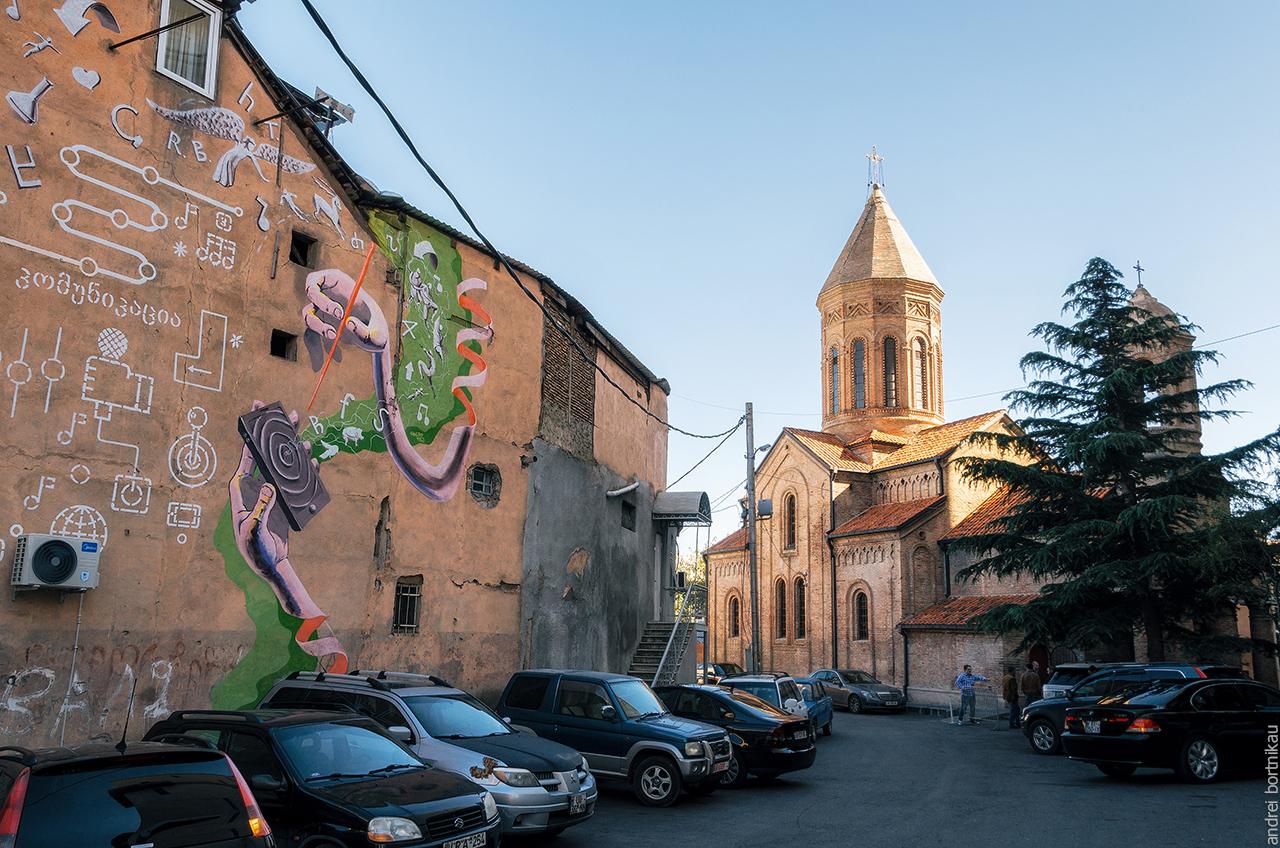 Церковь Кашвети, Тбилиси, Грузия