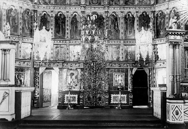 иконостас, начало ХХ века