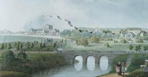 вид на усадьбу 1814-1819гг