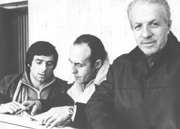 Валерий Харламов со своими докторами