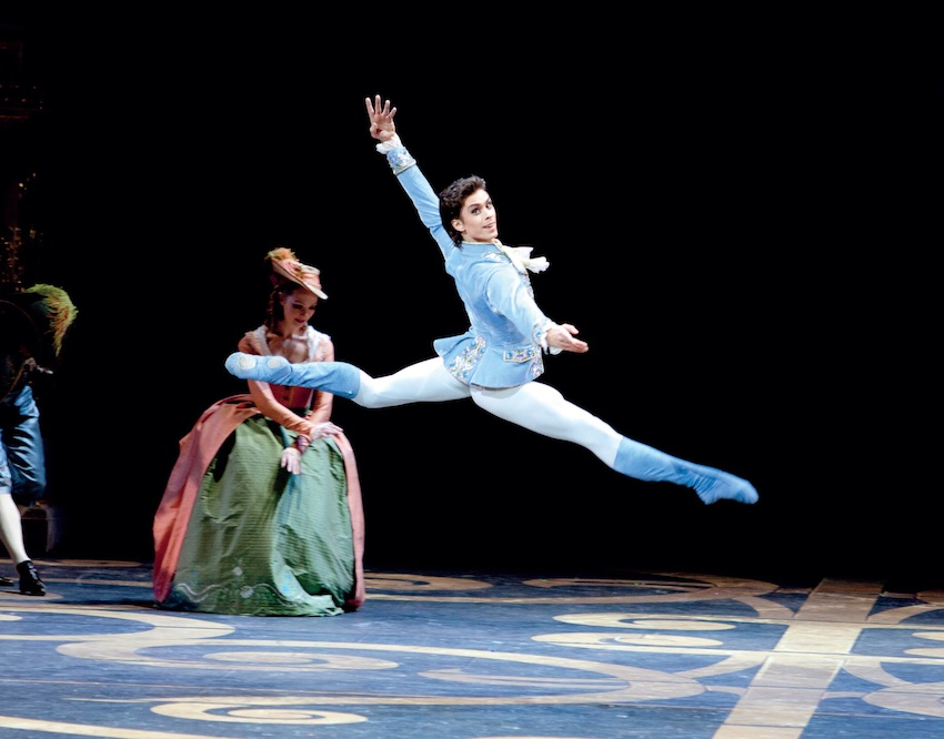 Artem Ovcharenko as the Prince in