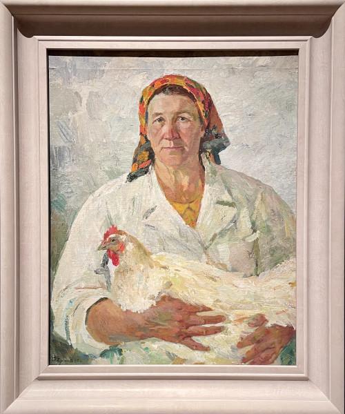 «Портрет птичницы Зубовой» Павла Чернова (1973)