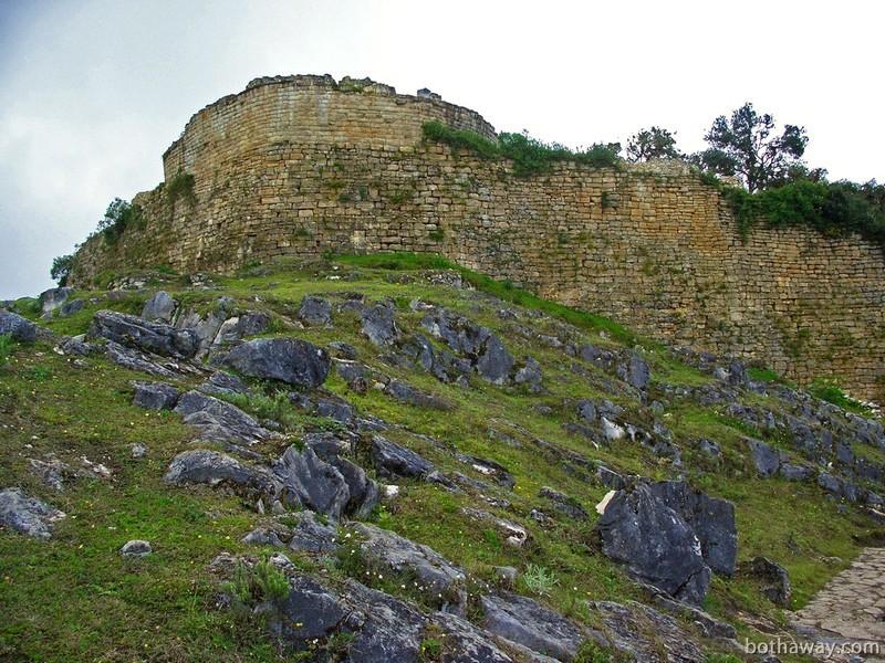 Вид на крепость с тропы
