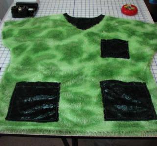 Scrubs top, green 2