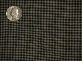 Cotton check, navy/beige