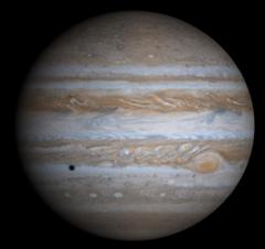 Этот снимок Юпитера был получен АМС Кассини 7 декабря 2000 года. фото: www.allplanets.ru