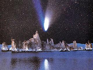 Комета Хейла–Боппа, 1997 год. Фото из www.college.ru