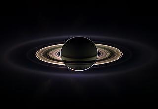 Затмение Солнца Сатурном 15 сентября 2006