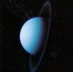 Уран — его кольца и спутники