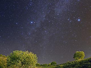 Летнее небо Астрономического города