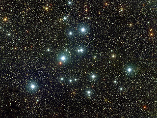 M39 - рассеянное скопление в Лебеде