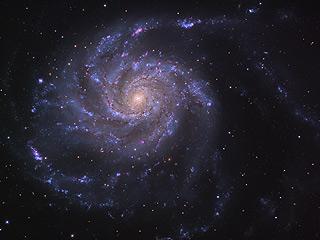 M101, галактика Вертушка