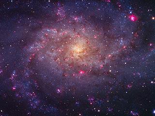 Яркие туманности M33