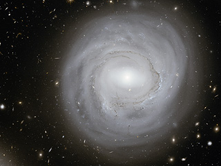 Анемичная галактика NGC 4921