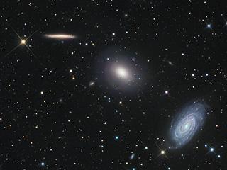 Три галактики в Драконе